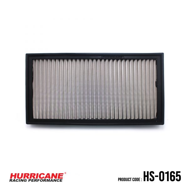 Volvo V70 II HS-0165 Reusable Hurricane stainless steel air filter is not only a more affordable filter replacement for your Volvo II  year 2001 to 2006 and V70 year 2001 to 2006 engine