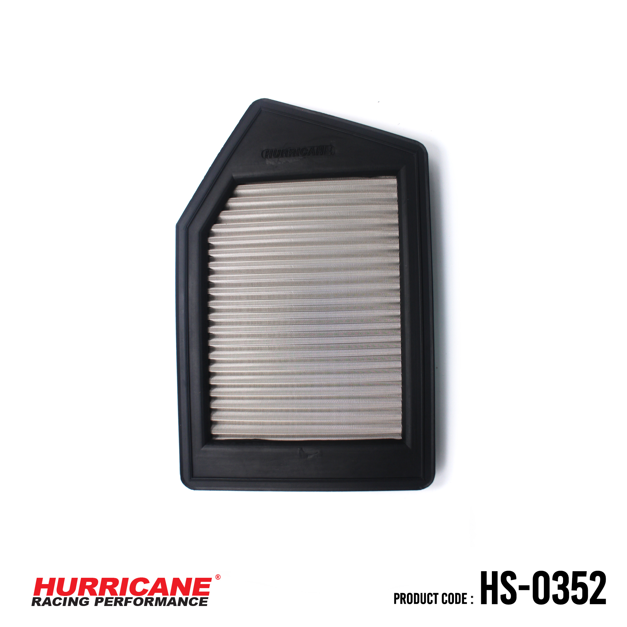 Acura TLX HS-0352 Hurricane Stainless Steel Air Filter